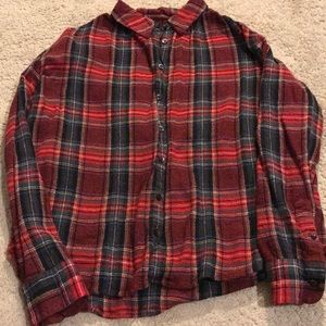 Madewell flannel size s